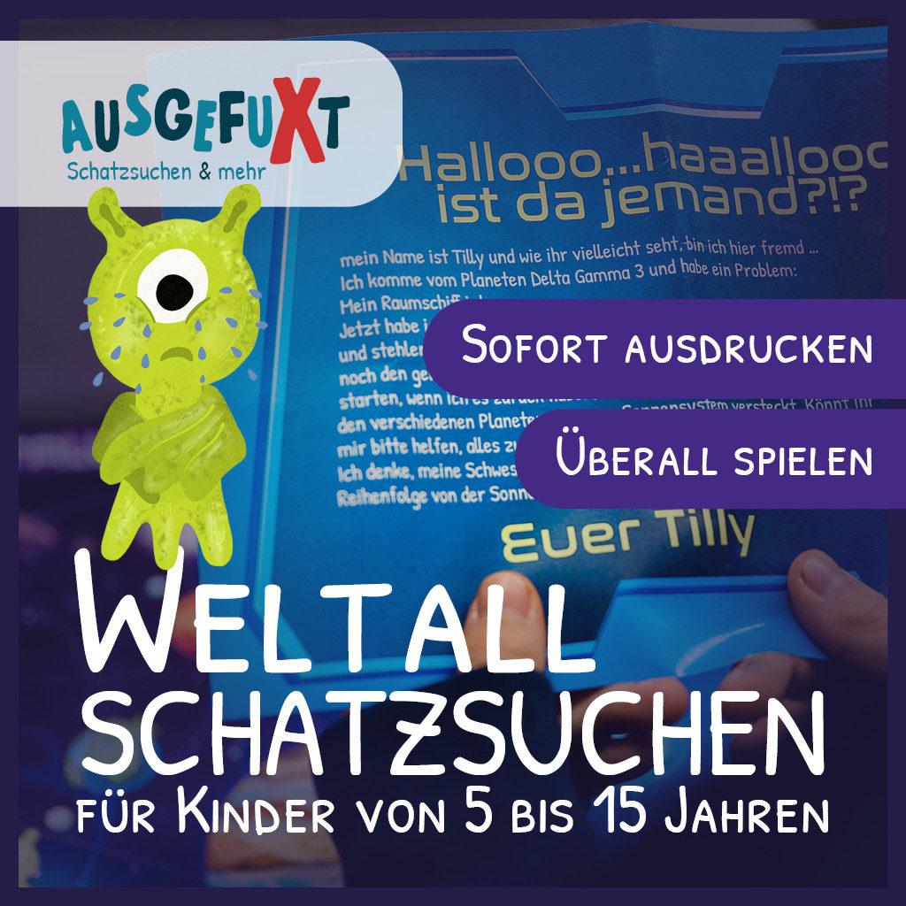 """Die Weltall-Schatzsuchen """"Verloren im Weltall I & II"""""""