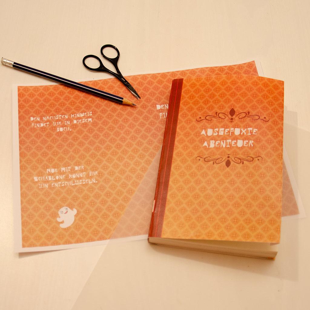 Geheime Nachricht in einem Buch verstecken: Material