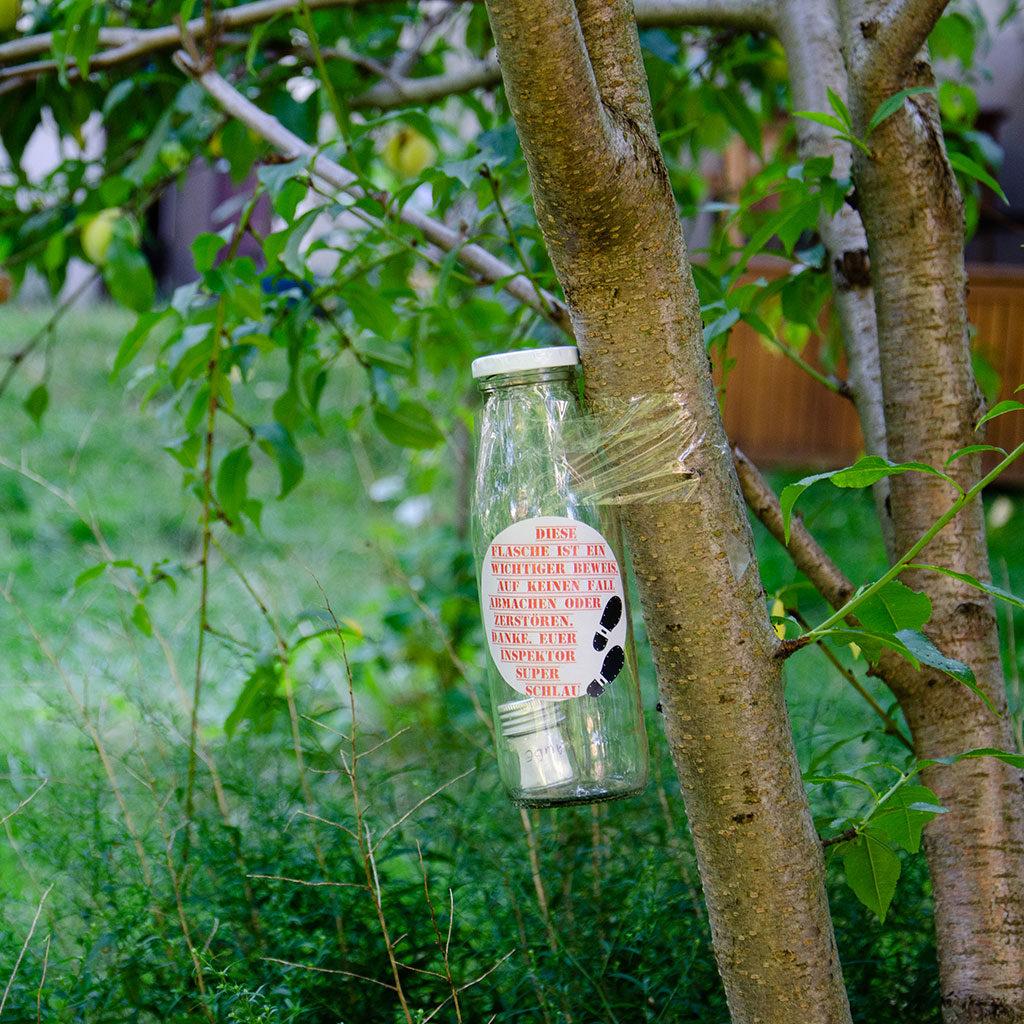 Das Flaschenrätsel für Detektive