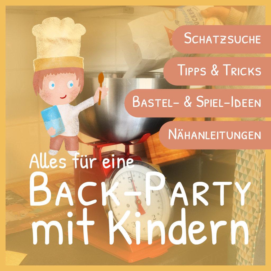 Alles für eine Back-Party mit Kindern