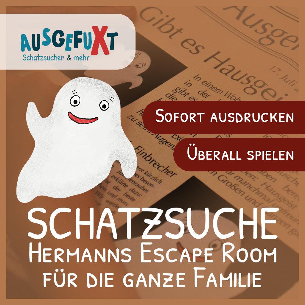 """Schatzsuche """"Hermanns Escape Room"""""""