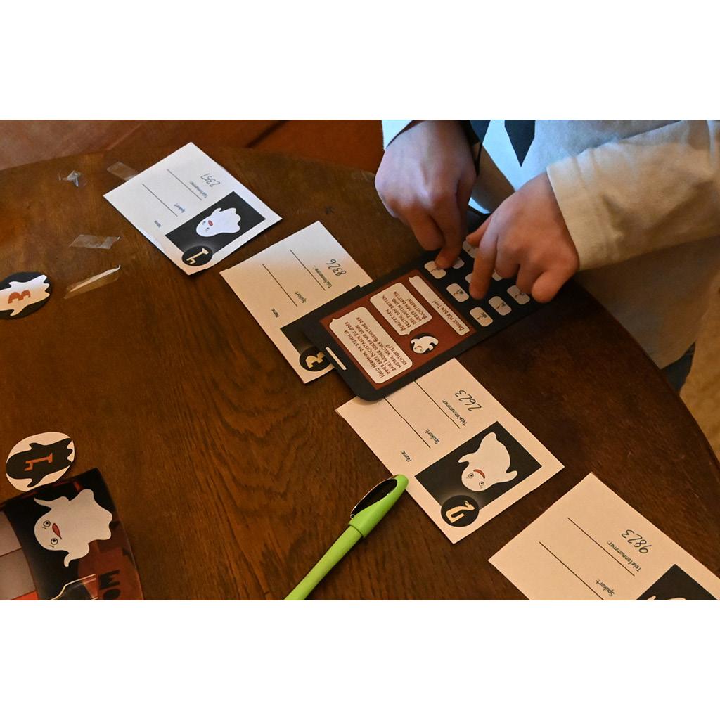 Hermanns Escape Room: Druckvorlage für das Handyrätsel