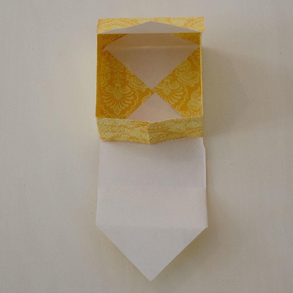 Papierschachtel beenden