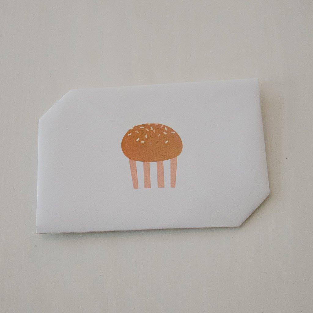 Briefumschlag falten: Ein weiteres Beispiel für das Muffin-Motiv