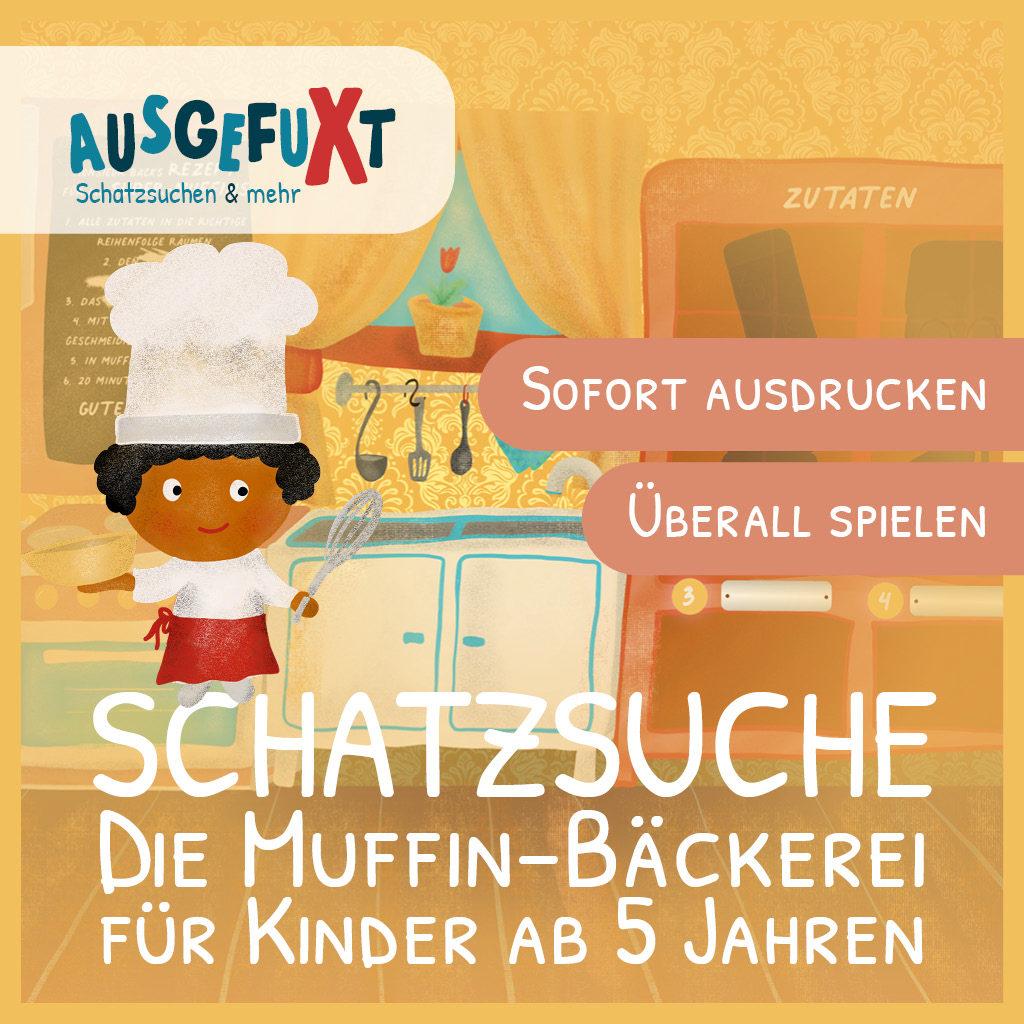 """Schatzsuche """"Die Muffin-Bäckerei"""""""