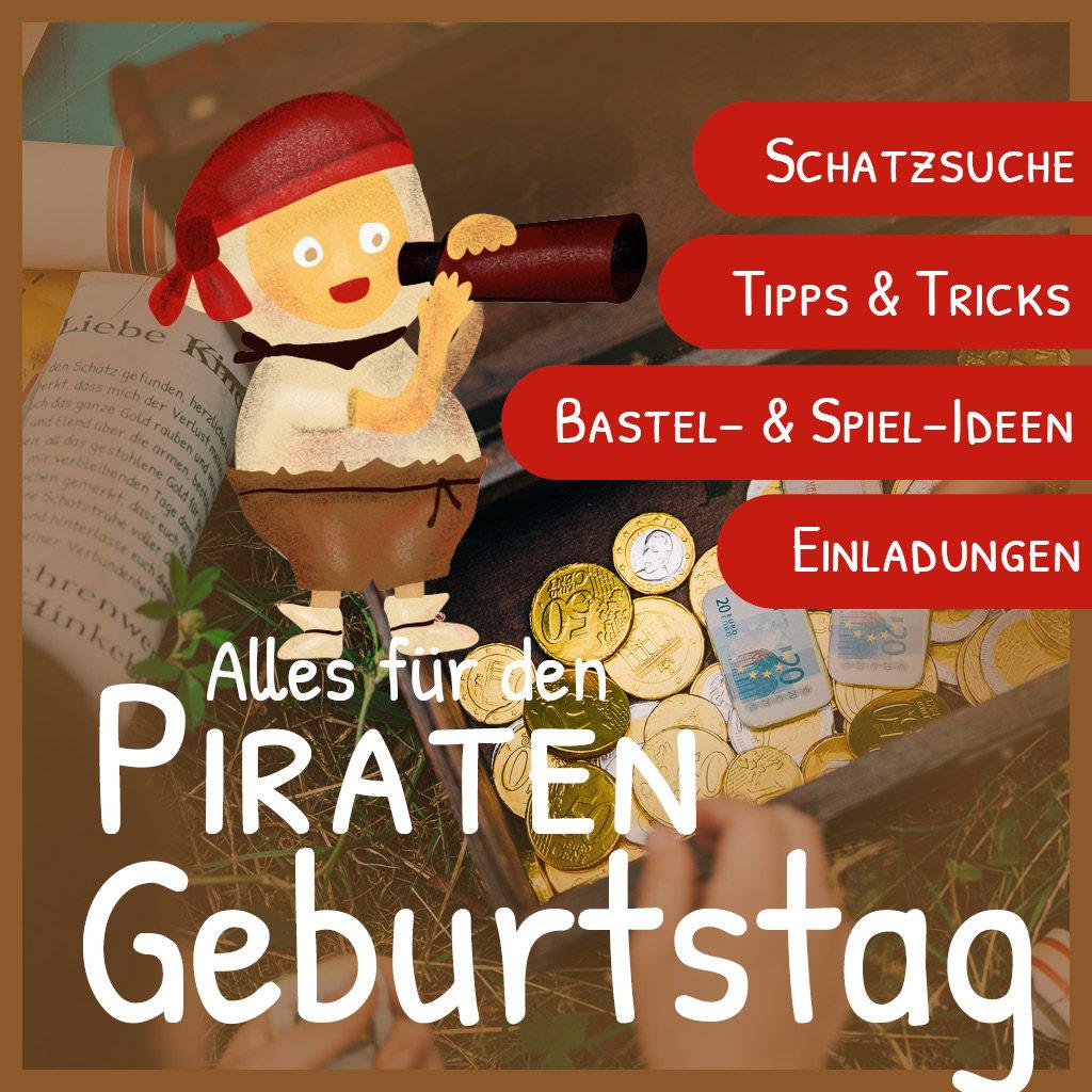Alles für den Piraten-Kindergeburtstag