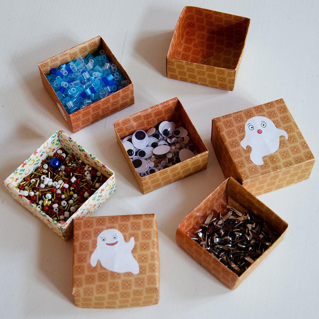 Schachteln für Kleinstteile