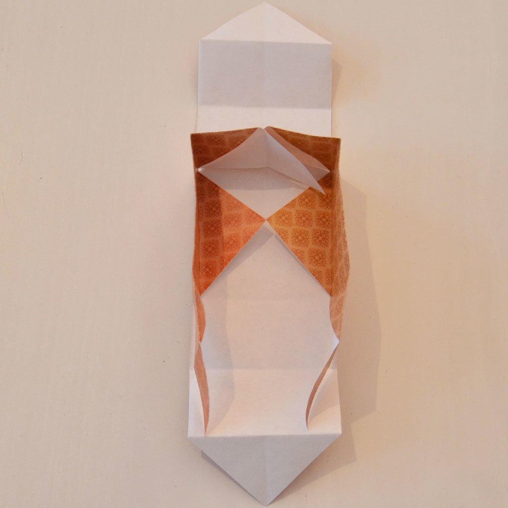 Schachtel falten: Schritt 6
