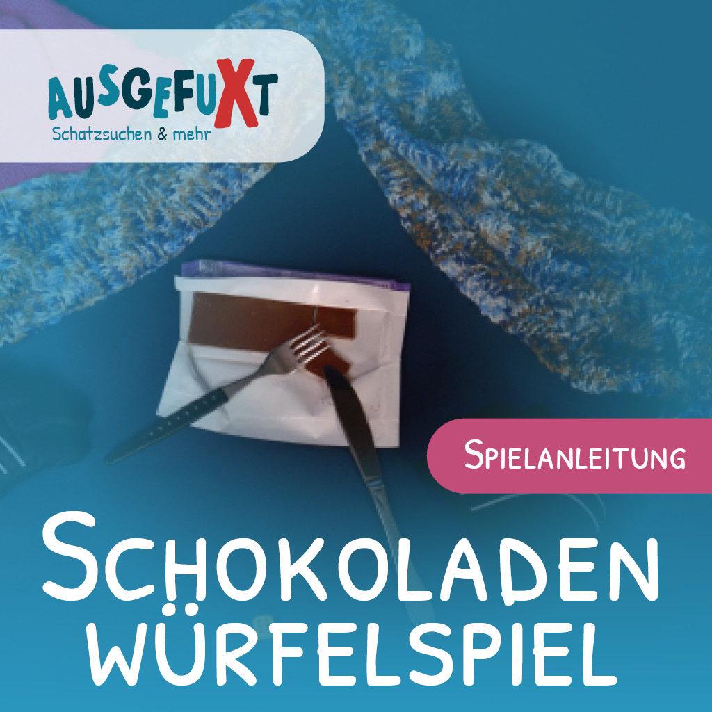 Spielanleitung: Winter-Schokoladen-Würfel-Spiel