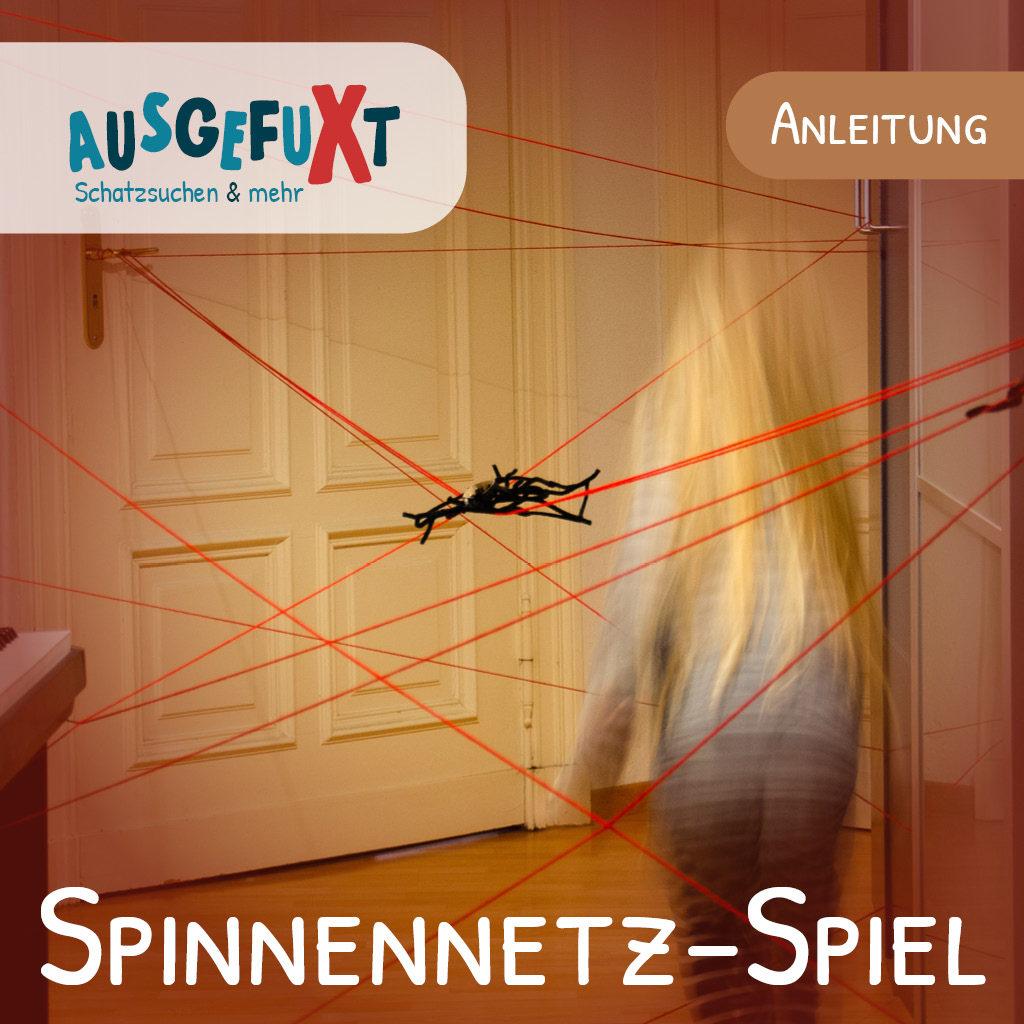 Spinnennetz-Spiel: Die perfekte Auflockerung für einen Escape Room mit Kindern