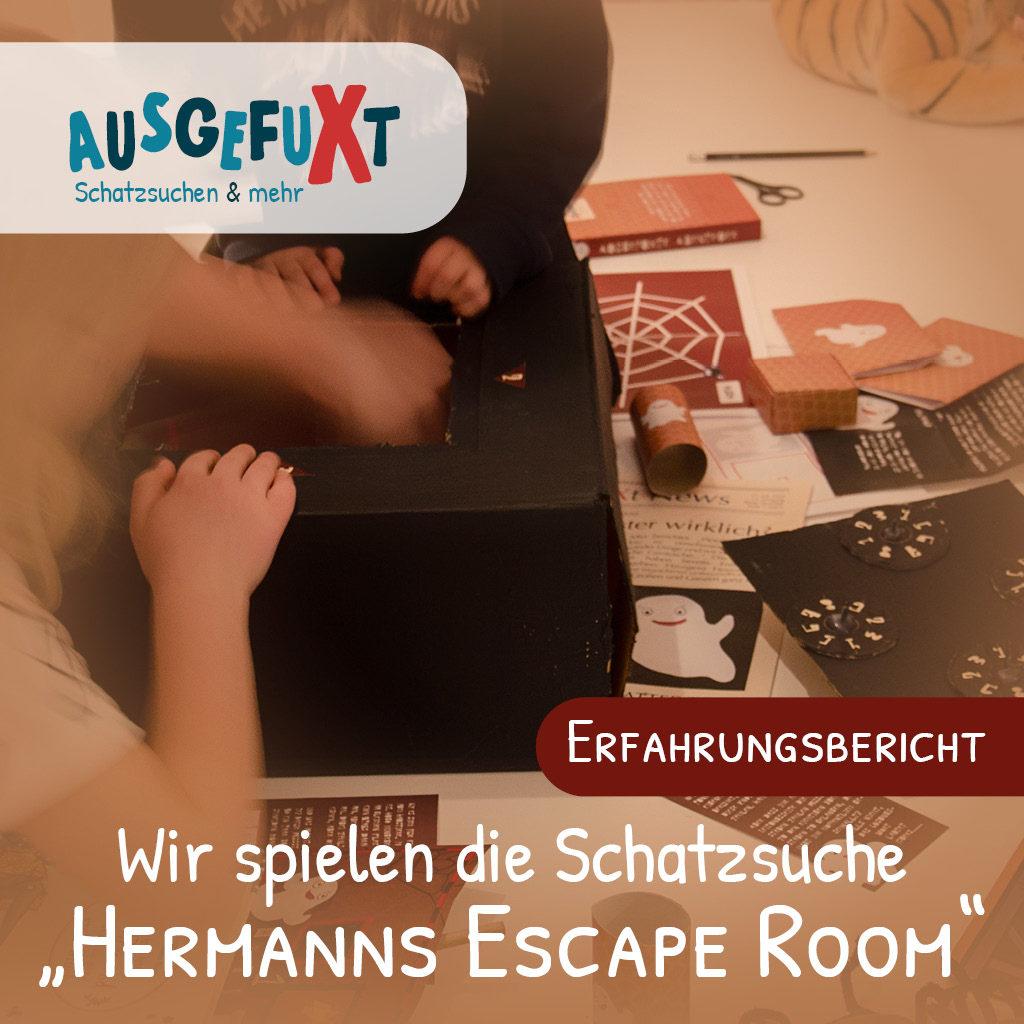 Escape Room für Kinder: Wir probieren es aus