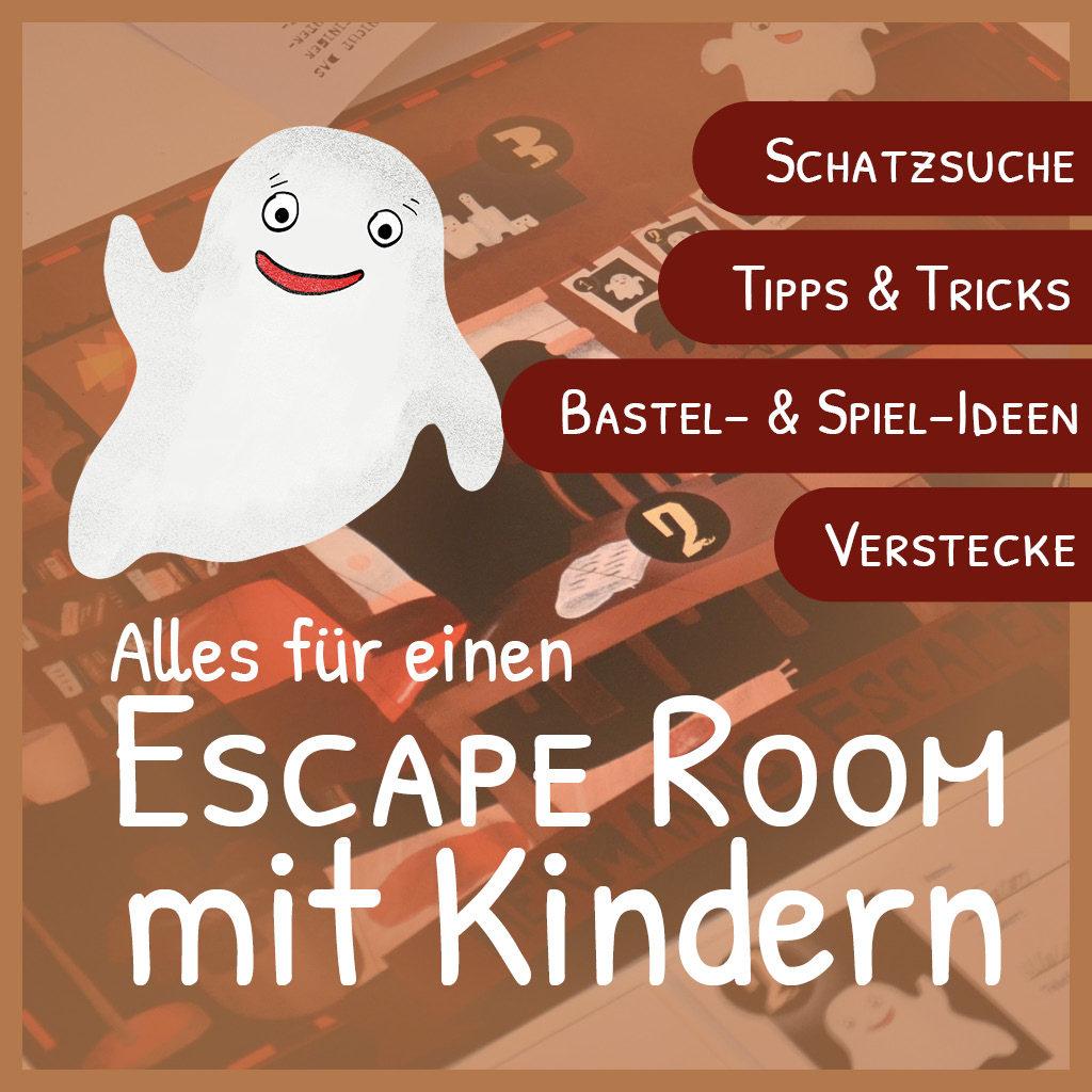 Alles für einen Escape Room mit Kindern