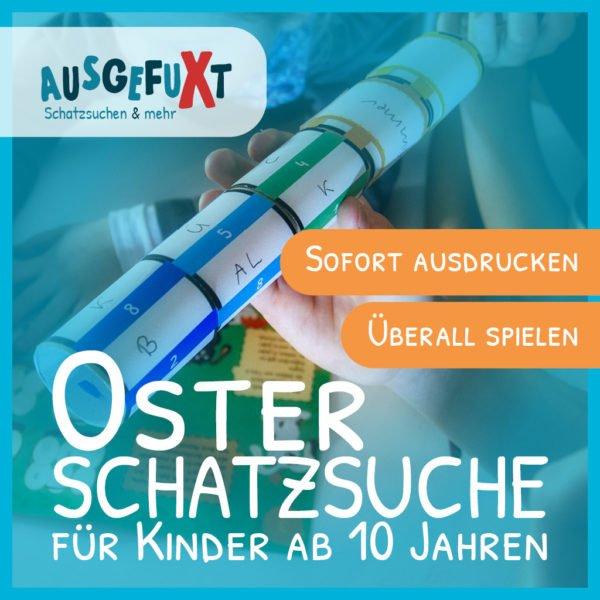 """Mini-Osterhasen-Schatzsuche """"VerfliXte Rolle"""""""