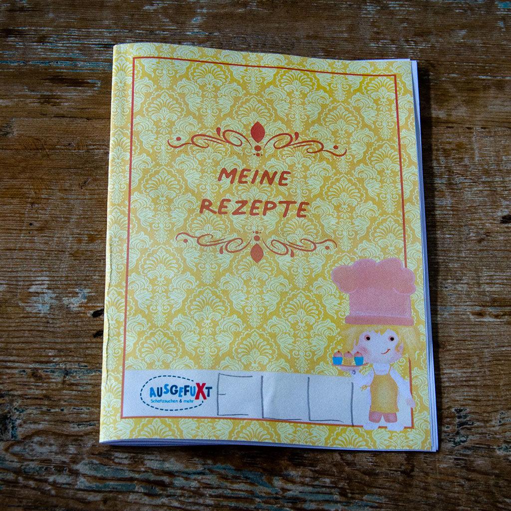 Rezeptbuch selbst gestalten: Cover