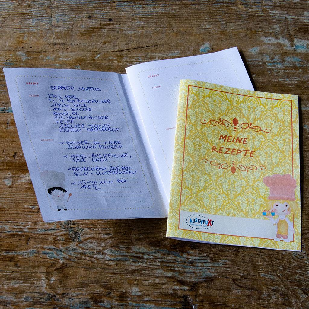 Rezeptbuch selbst gestalten: Seiten nachdrucken