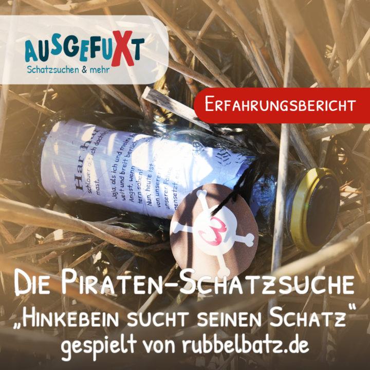 """Die Piraten-Schatzsuche """"Hinkebein sucht seinen Schatz"""" gespielt von rubbelbatz.de"""
