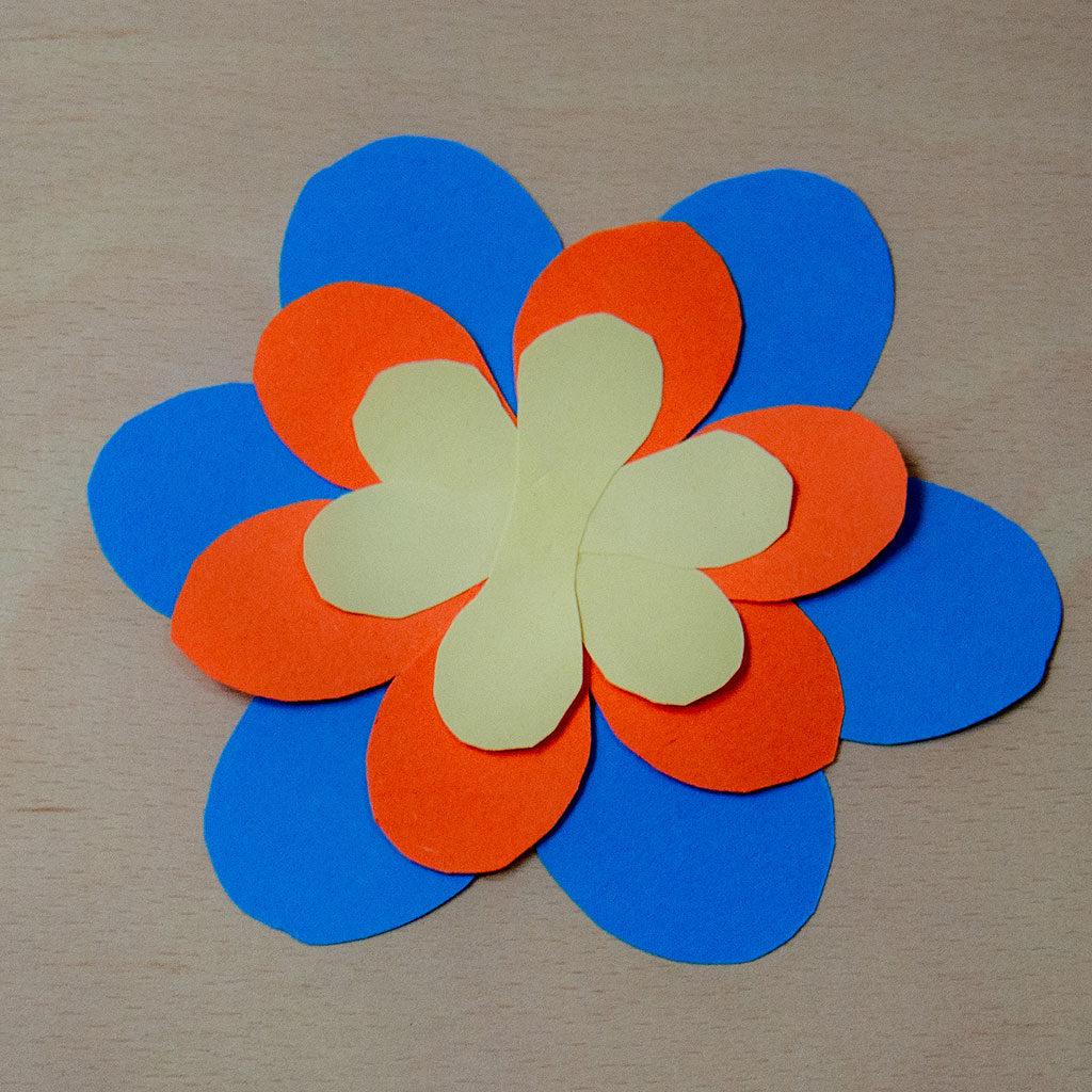 Blumen basteln: Variante 3