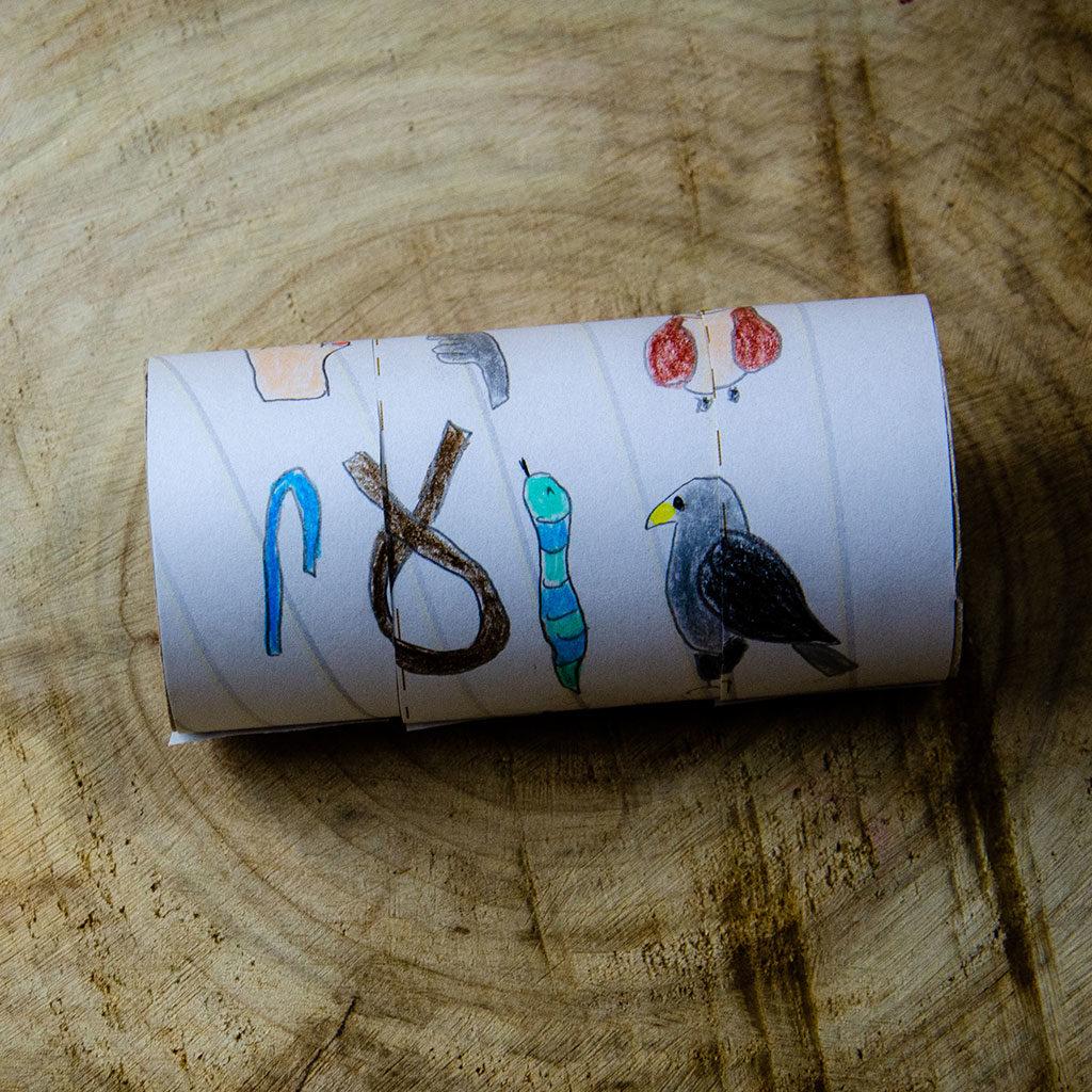 Die geheime Botschaft mit Hieroglyphen verschlüsseln.