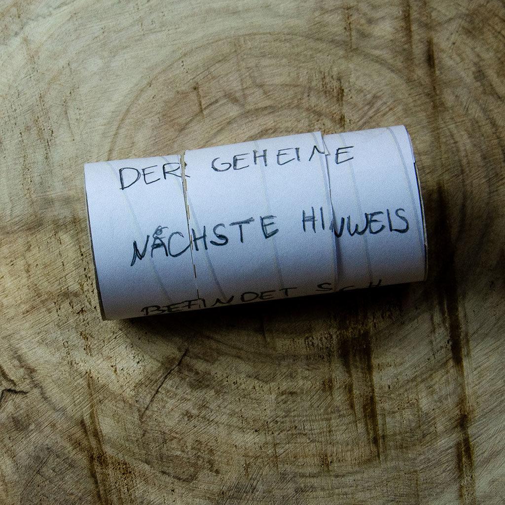Mumien basteln: Die geheime Nachricht mit einem Text verschlüsseln