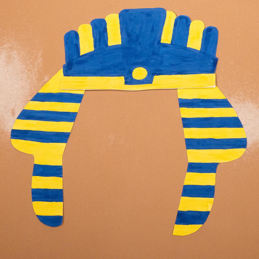 Tutanchamun-Maske basteln