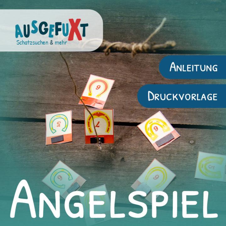 Angelspiel: Anleitung & Druckvorlage