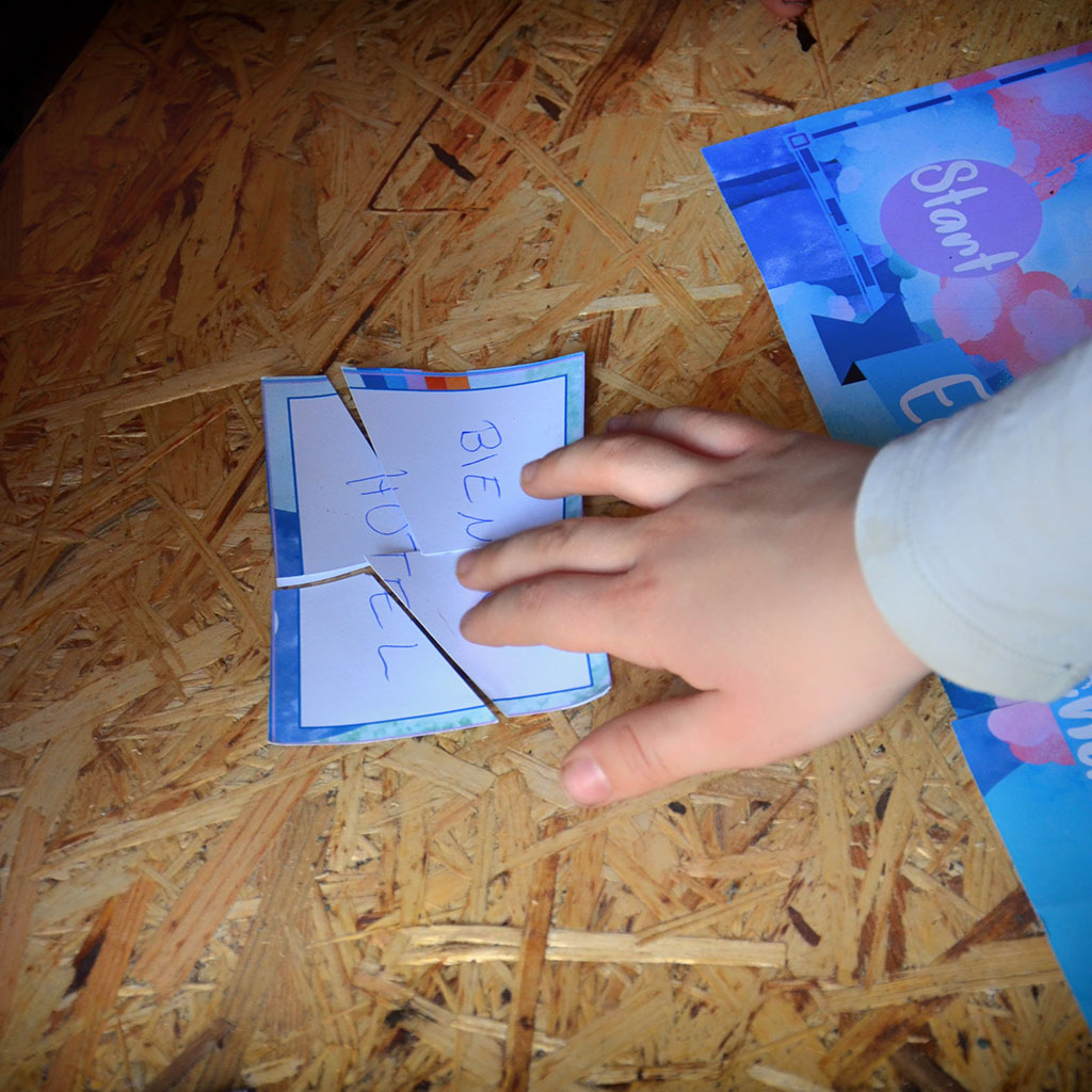 Einhorn-Schatzsuche: Das Puzzle-Rätsel