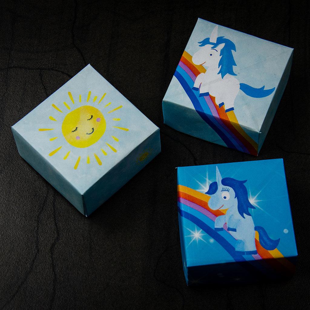 Kleine Schachteln basteln: 3 Motive