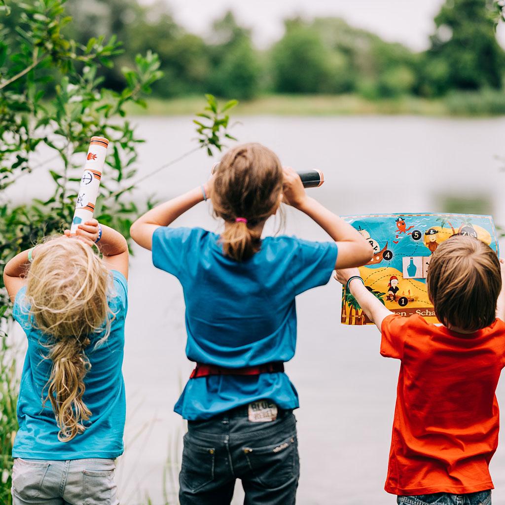 Piraten-Schatzsuche zum Kindergeburtstag