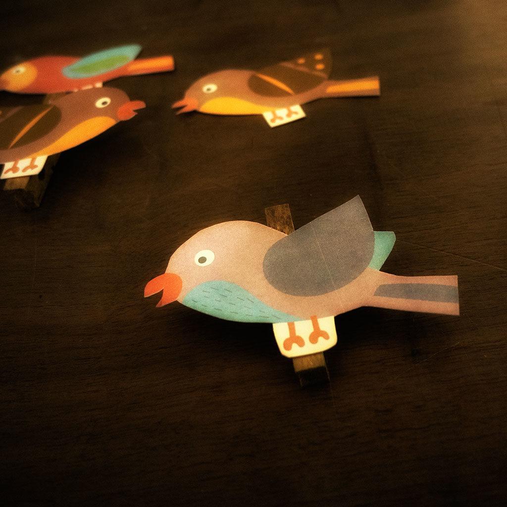 Fertig sind die Vögel!