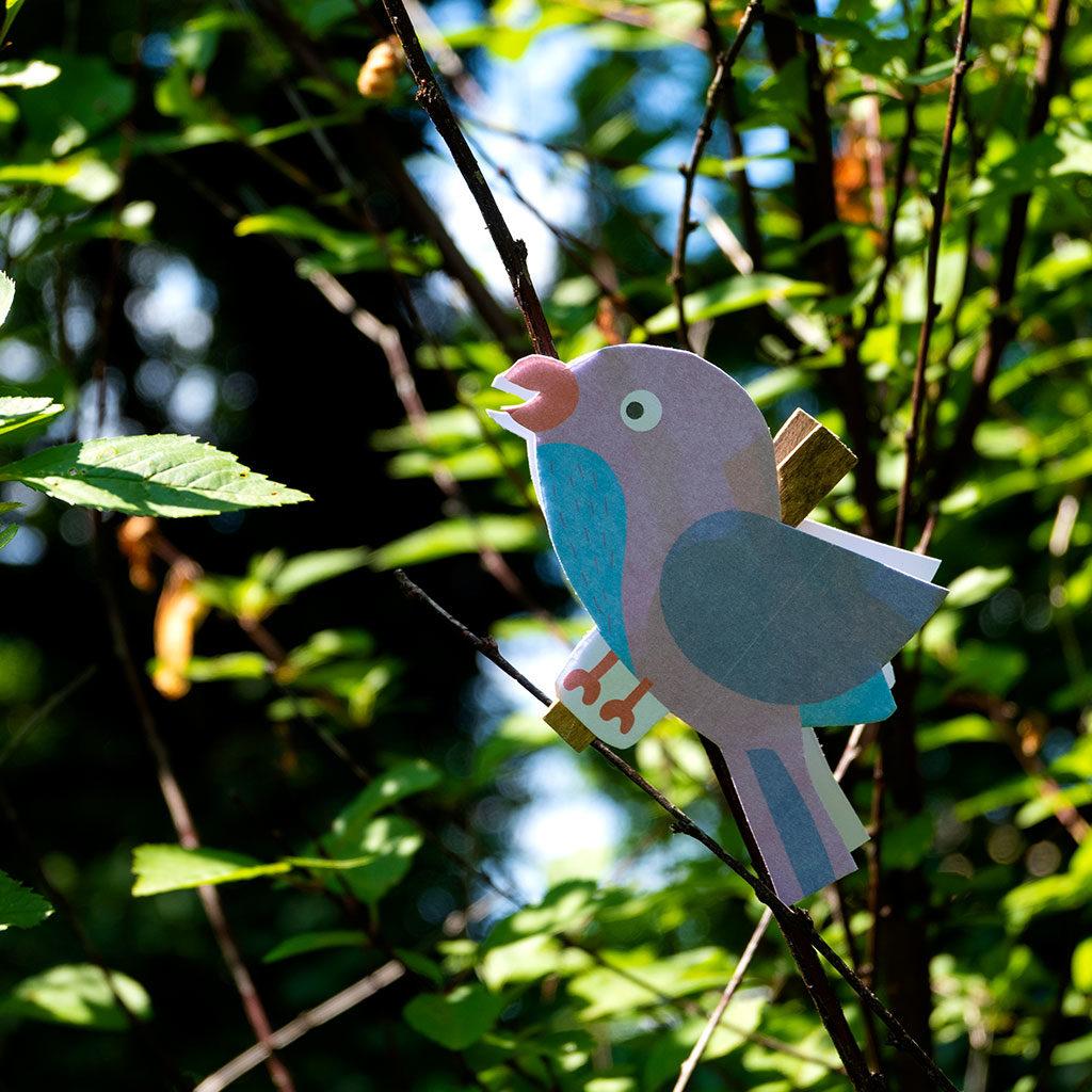 Vögel basteln: Beispiele