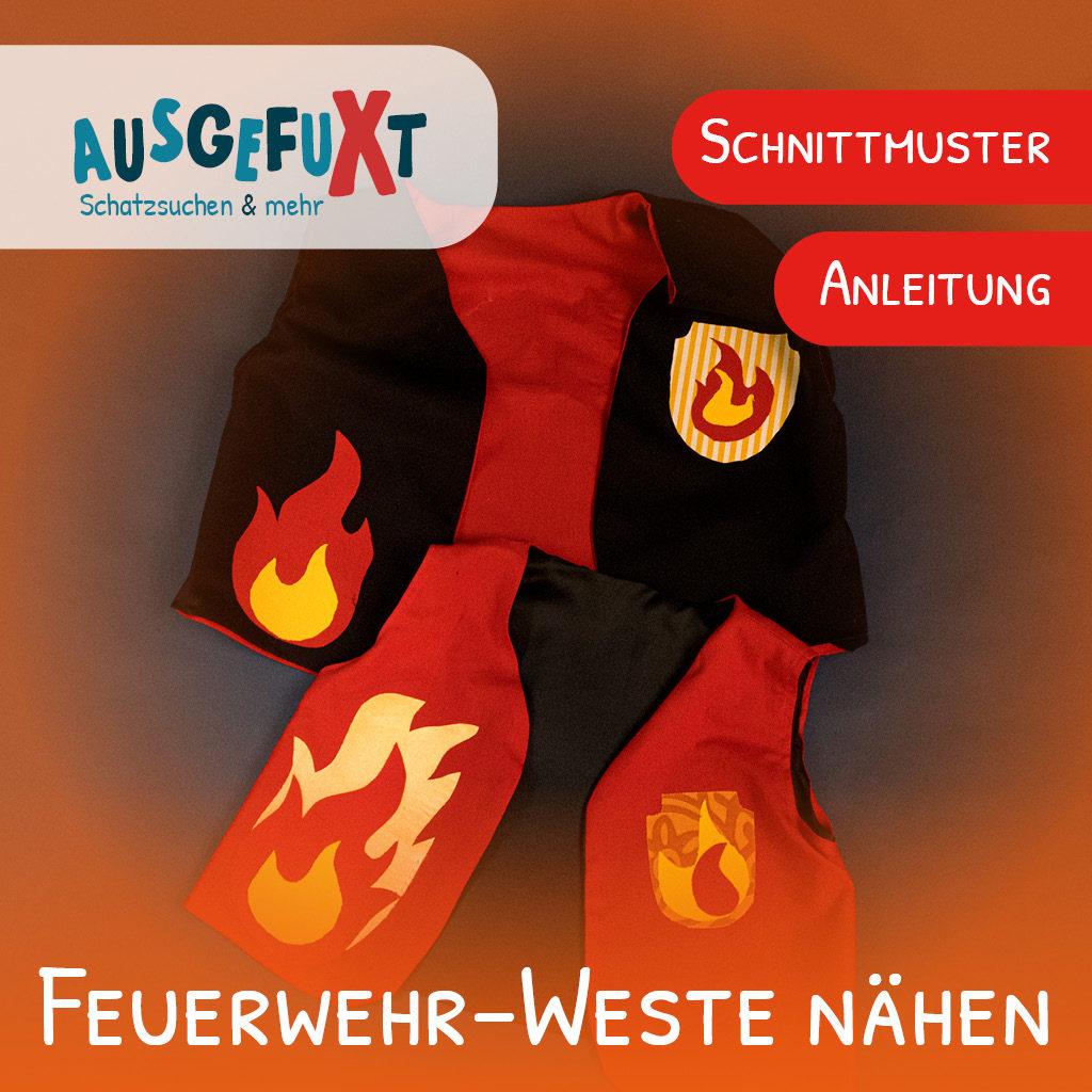 Feuerwehr-Weste nähen
