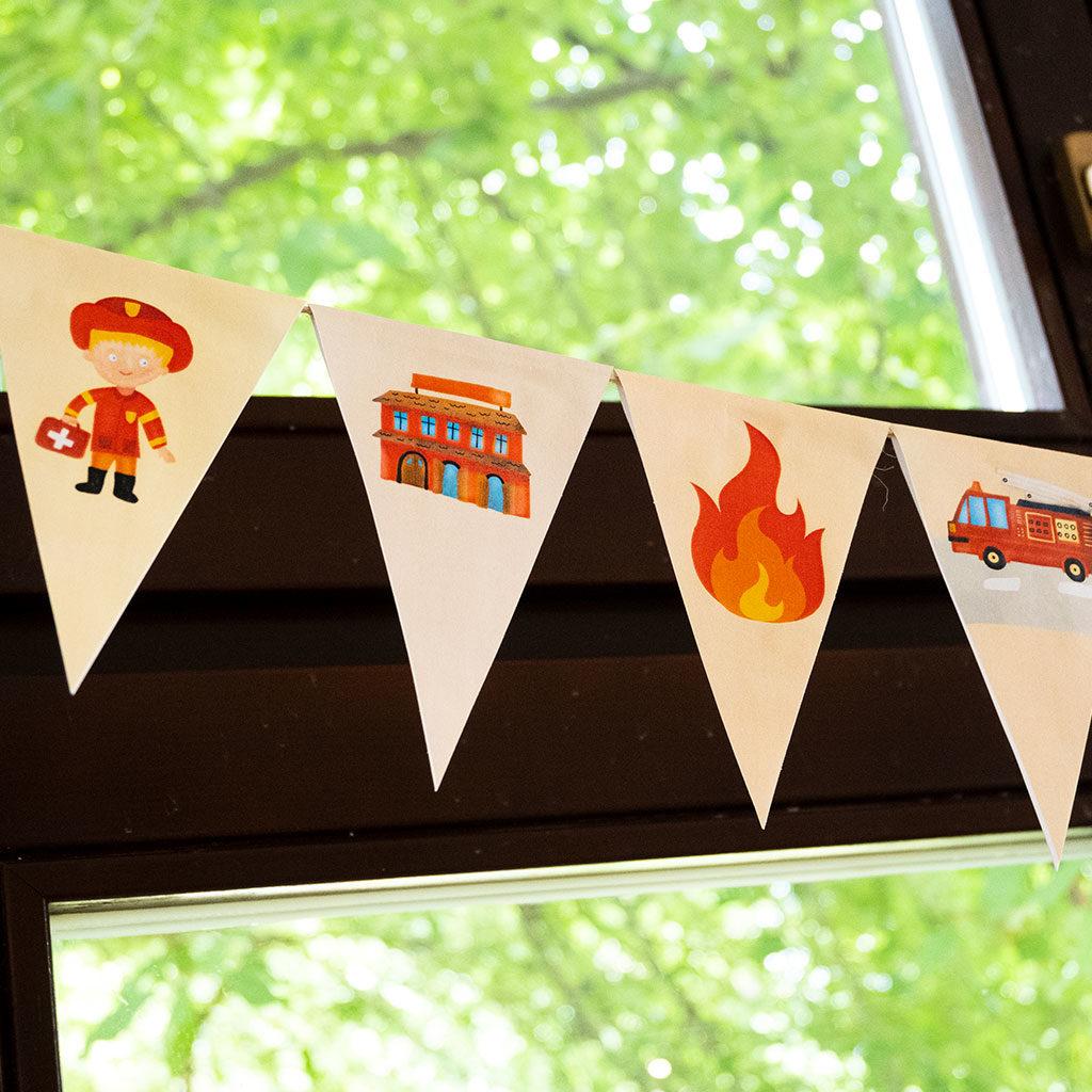 Feuerwehr-Wimpelkette: Motive